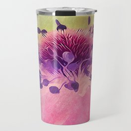 Flat Flower Cartoon Travel Mug