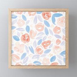 Floral Pattern #2 | Rose Lilac Palette Framed Mini Art Print