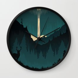 The Wilderness Wall Clock