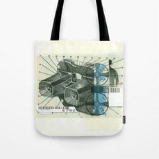 Viewmaster Tote Bag