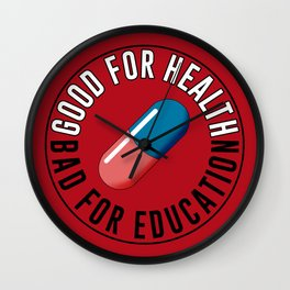 Good for health Wall Clock