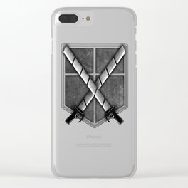 Attack on Titan; Cadet Corps Clear iPhone Case