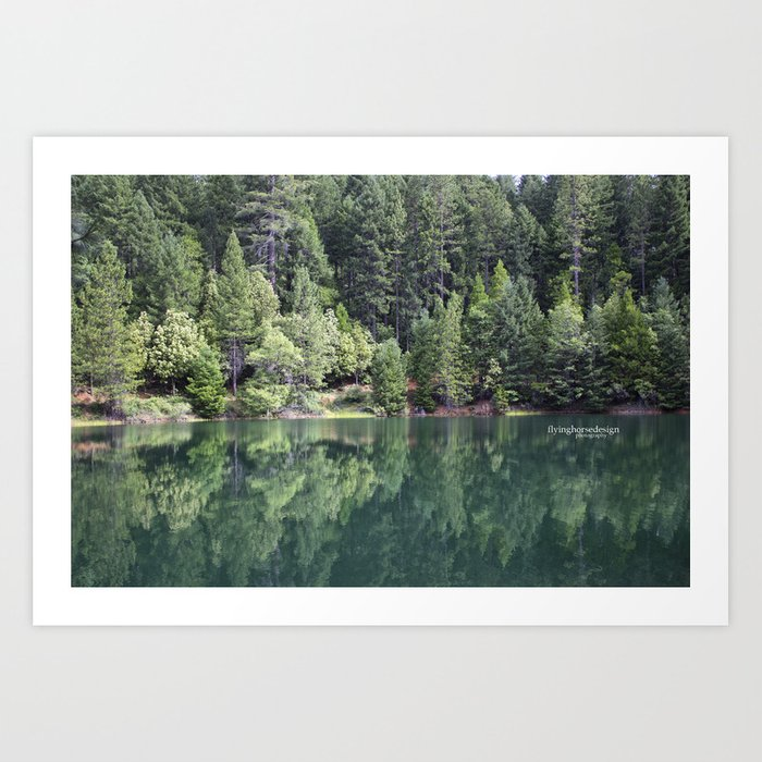 Paradise Lake Art Print