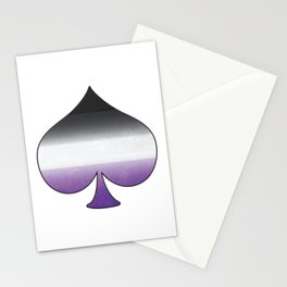 Asexual Ace Stationery Cards