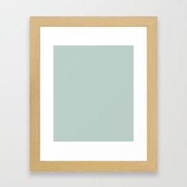 Jet Stream - solid color Framed Art Print