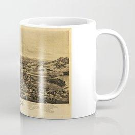 Aerial View of Dixfield, Maine (1896) Coffee Mug