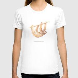 Css Animal: Sloth T-shirt