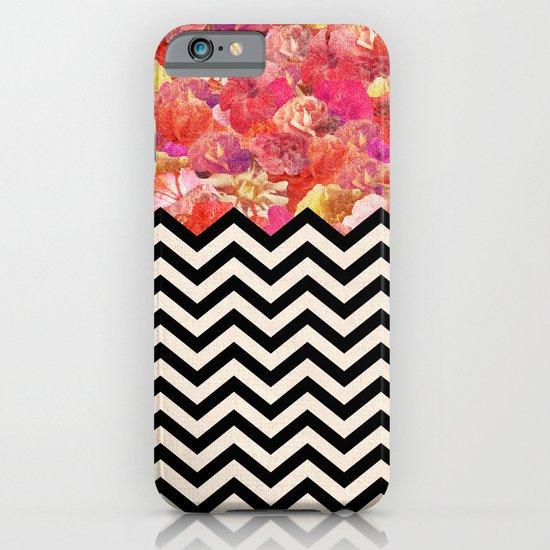 Chevron Flora iPhone & iPod Case