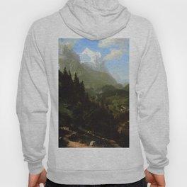 The Wetterhorn 1857 By Albert Bierstadt | Reproduction Painting!Blog By Albert Bierstadt | Reproduct Hoody