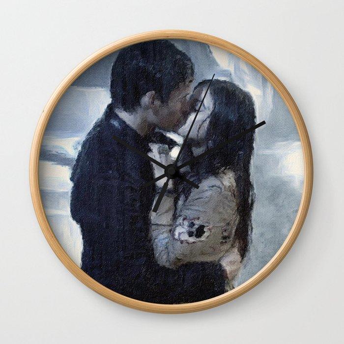 """My Love, the Reason I Survive"" Wall Clock"