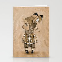 mouse Stationery Cards featuring Mouse by Freeminds
