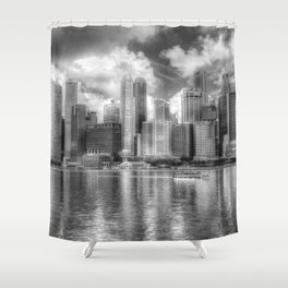 Singapore Marina Bay Sands Shower Curtain
