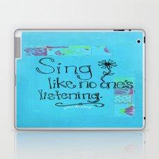 Sing Laptop & iPad Skin