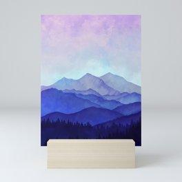 Blue Morning Mini Art Print