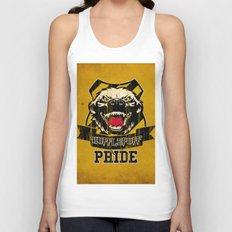 Hufflepuff Pride Unisex Tank Top