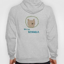 Bearable Bear Hoody