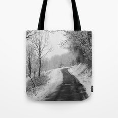 Winter Path Tote Bag