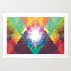 PRYSMIC ORBS II Art Print