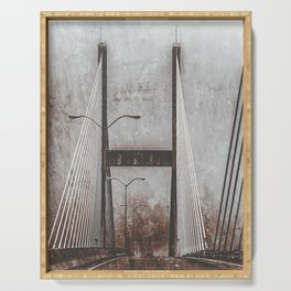 Suspension Bridge Serving Tray