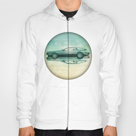 Siamese  Delorean Hoody