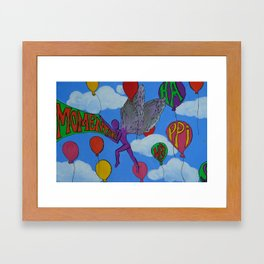 Momentary Happiness.  Framed Art Print