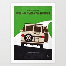 No481 My Wet Hot American Summer mmp Art Print