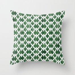 Al-Hamra gardens Throw Pillow