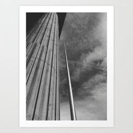 Dublin Spire's perspective Art Print
