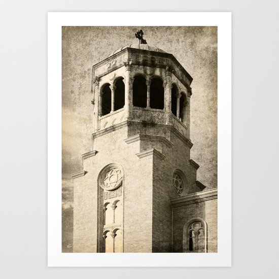 Old Greek Orthodox Church Art Print