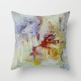 the trace Throw Pillow