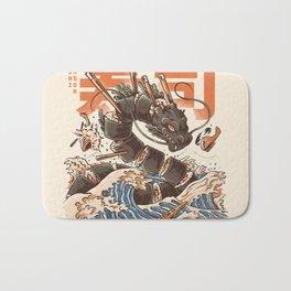 Great Sushi Dragon Bath Mat