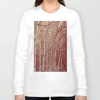 birch Long Sleeve T-shirts featuring Birch by Indigo Rayz