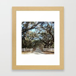 Savannah, Georgia Framed Art Print