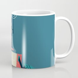 :::Mini Robot-Dynamo::: Coffee Mug