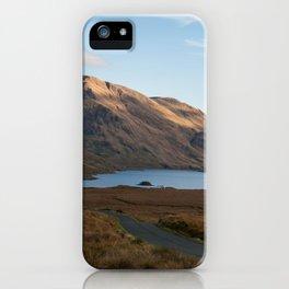 Doo Lough Pass (Black Lake)  iPhone Case