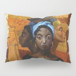 Classical African American Landscape 'Secret History of the Black Race' by Lois Jones Pillow Sham