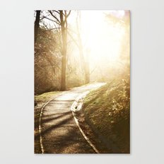 Road to heaven... Canvas Print