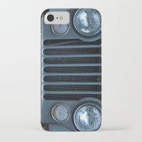 jeep iPhone & iPod Cases featuring Jeep by Rosa Maun