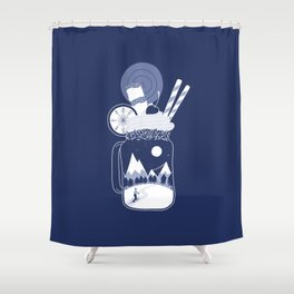 Whipped Cream Day Shower Curtain
