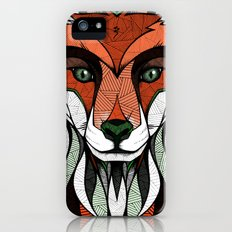 Fox // Colored iPhone (5, 5s) Slim Case
