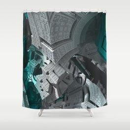 Fractaled Shower Curtain