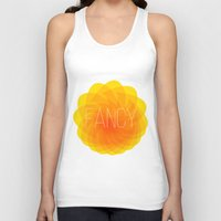 fancy Tank Tops featuring fancy by Helmo Studio