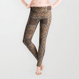 Beach Tiled Pattern Leggings