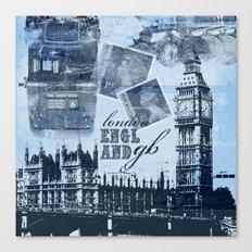Anglophile Love Canvas Print