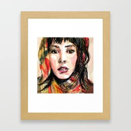 When I'm With You. Framed Art Print