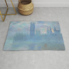 Houses of Parliament London Rug