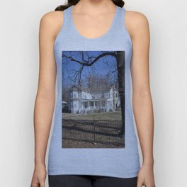 Cherokee Nation - The Ivy-Duncan-Dannenburg Home, built in 1874 Unisex Tank Top
