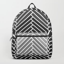 Parquet All Day - Gray Backpack