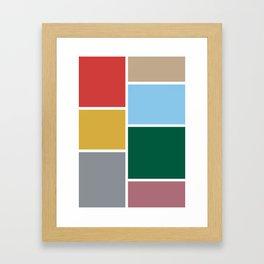 moda v.2 Framed Art Print