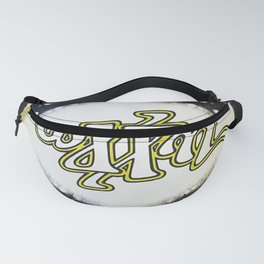 WXPN invertible design circa1980 Fanny Pack